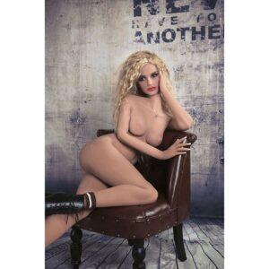 Boneca Realistica Loira Tamanho Real - Sex Doll Cyberskin - Sex shop