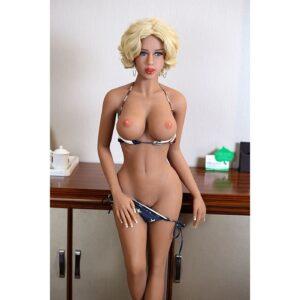 Boneca Realistica Americana Tamanho Real - Sex Doll Cyberskin - Sexshop