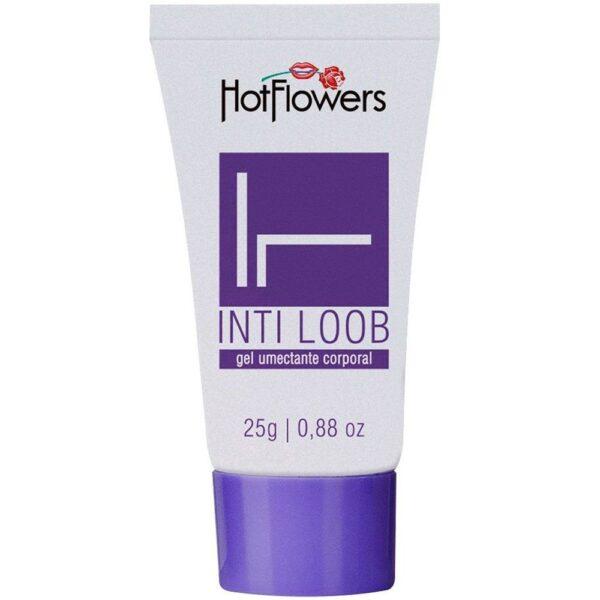 Kit 03 Lubrificante Int-Loob Bisnaga Lilás 25gr HotFlowers - Sexshop