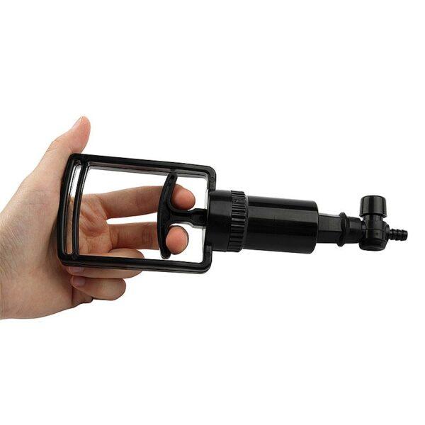Bomba Peniana com Vibrador - Vacuum com Válvula - Sexshop