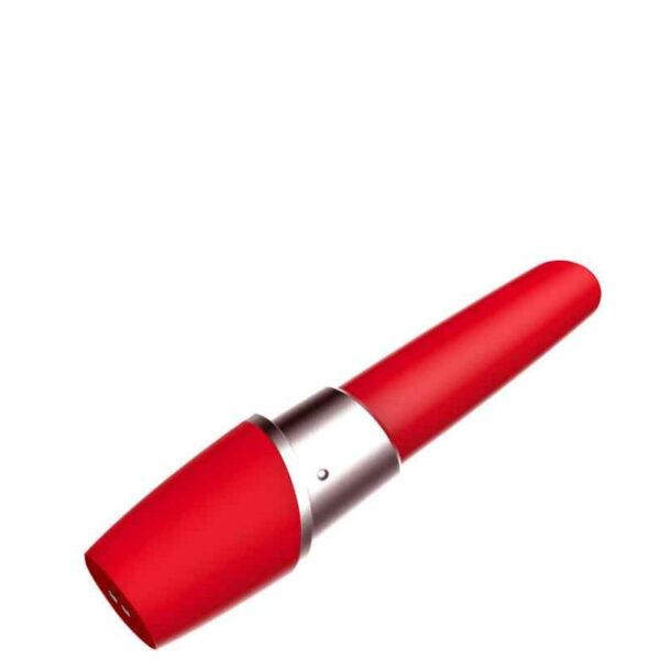 Vibrador Batom Recarregável com 12 Vibrações - Sexshop