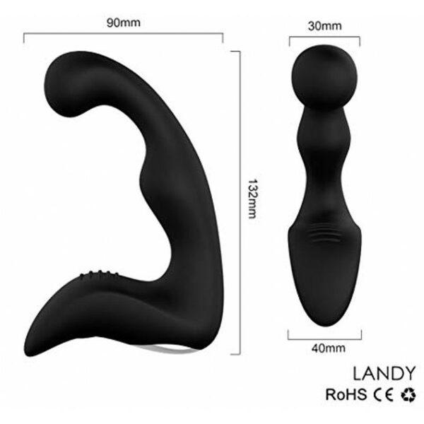 Estimulador de Próstata Recarregável- Landy-RCT - S-Hande
