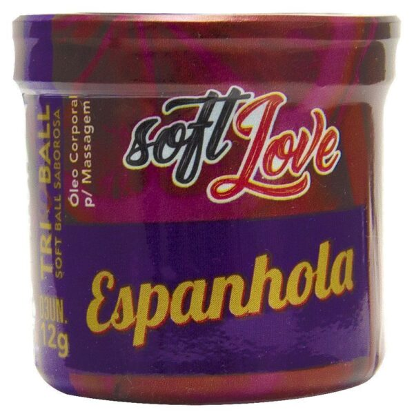 Bolinha Explosiva Triball Beijável Espanhola 03 Unidades Soft Love