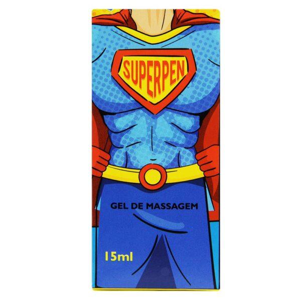 Gel Intensificador De Ereção SuperPen 15ML - Segred Love