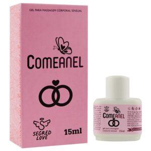 Gel Lubrificante Comeanel Dessensibilizante Facilitador Anal 15Ml - Segred Love