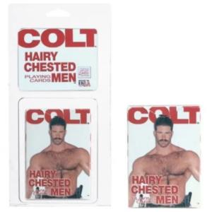 Baralho Com Ilustrações De Homens - Colt Hairy Chested
