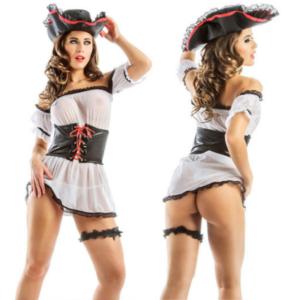 Fantasia Sensual Pirata Hot Flowers - Sexshop