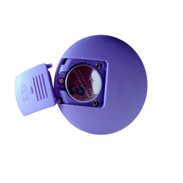 Vibrador Bolinha ou Pompoar de Silicone Rotativo com Controle Remoto - TOPO TOYS - Sex shop