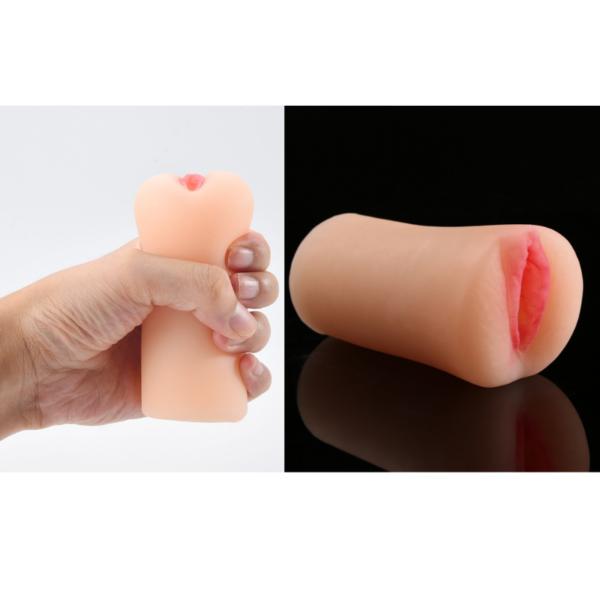 Masturbador Masculino vagina Pussy feito em Cyberskin 11cm - Sexshop
