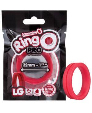 Anel Peniano De Silicone - Ringo Pro LG - Screaming O