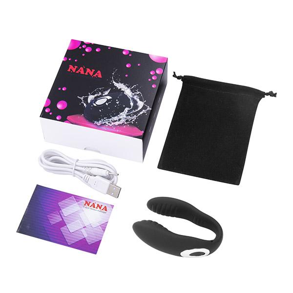 Vibrador para casais U-vibrator NANA - Silicone e Recarregável - Sex shop